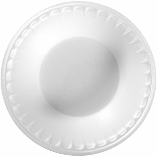 Hefty Everyday Soak Proof White Foam Bowls Perspective: left