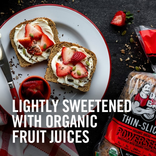 Dave's Killer Bread® Organic Thin-Sliced Powerseed Bread Perspective: left