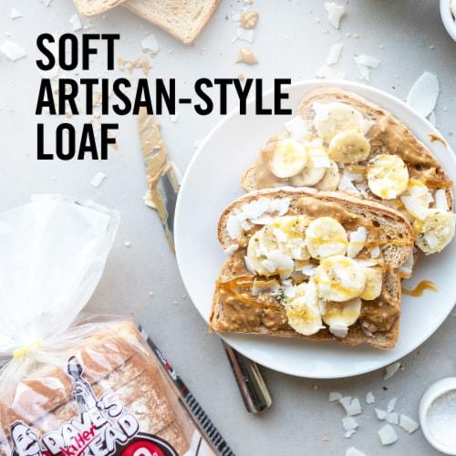 Dave's Killer Bread Organic Done Right White Bread Perspective: left