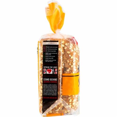 Dave's Killer Bread Organic Honey Oats & Flax Bread Perspective: left