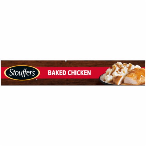 Stouffer's Baked Chicken Frozen Meal Perspective: left