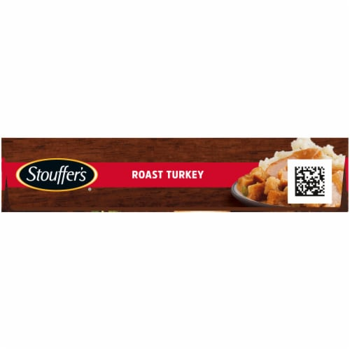 Stouffer's Roast Turkey Frozen Meal Perspective: left