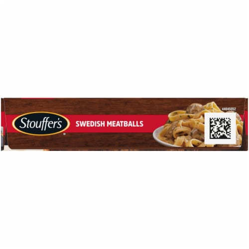 Stouffer's Swedish Meatballs Frozen Meal Perspective: left