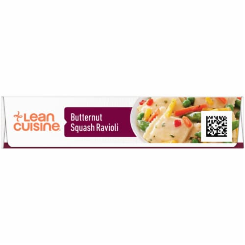 Lean Cuisine Features Butternut Squash Ravioli Frozen Meal Perspective: left