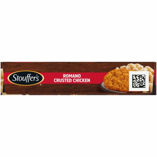 Stouffer's Romano Crusted Chicken Frozen Dinner Perspective: left