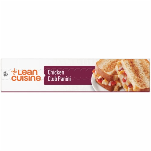 Lean Cuisine Features Chicken Club Panini Frozen Meal Perspective: left