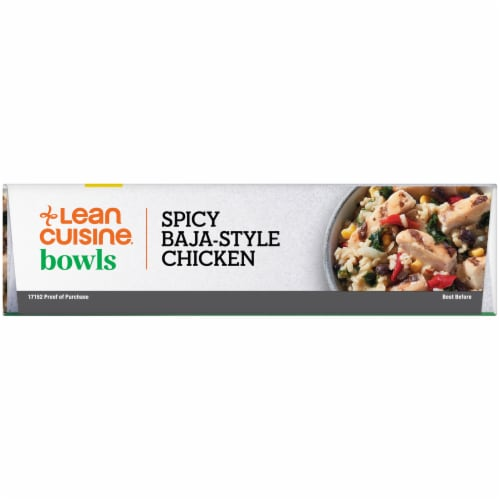 Lean Cuisine Spicy Baja Style Chicken Bowl Frozen Meal Perspective: left