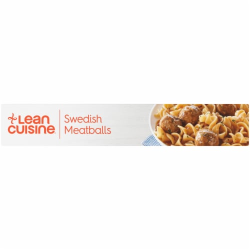 Lean Cuisine Favorites Swedish Meatballs Frozen Meal Perspective: left