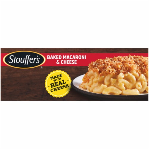 Stouffer's Baked Macaroni and Cheese Frozen Meal Perspective: left