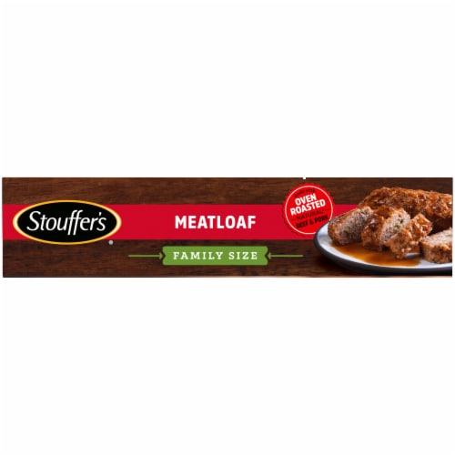 Stouffer's Family Size Meatloaf Frozen Meal Perspective: left