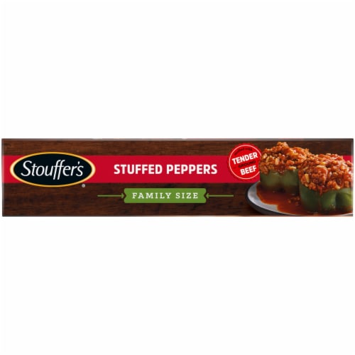 Stouffer's Family Size Stuffed Peppers Frozen Dinner Perspective: left