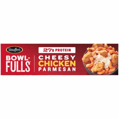 Stouffer's Bowl-Fulls Cheesy Chicken Parmesan Frozen Meal Perspective: left
