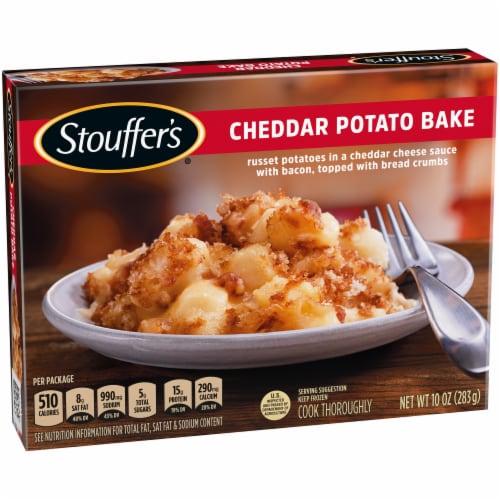 Stouffer's® Cheddar Potato Bake Frozen Meal Perspective: left