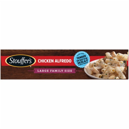 Stouffer's Classics Chicken Alfredo Large Family Size Frozen Meal Perspective: left