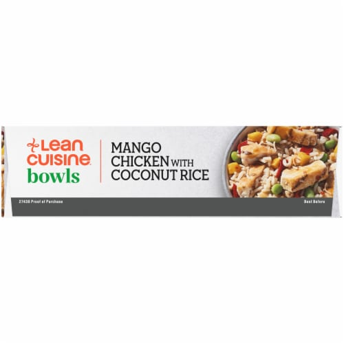 Lean Cuisine Bowls Mango Chicken with Coconut Rice Frozen Meal Perspective: left