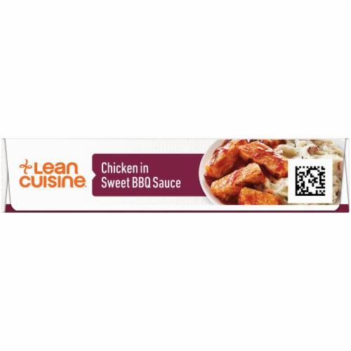 Lean Cuisine Features Chicken in Sweet BBQ Sauce Frozen Meal Perspective: left
