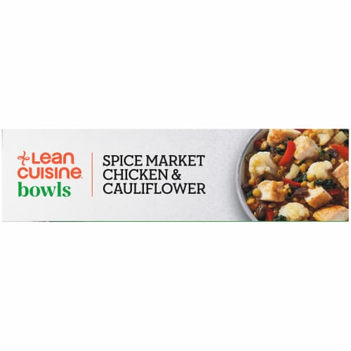 Lean Cuisine Spice Market Chicken & Cauliflower Bowl Frozen Meal Perspective: left