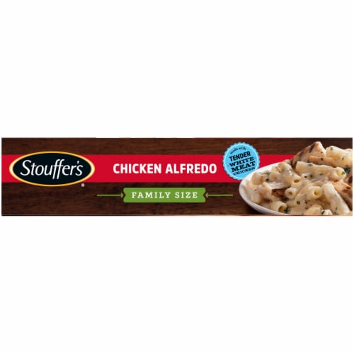 Stouffer's Chicken Alfredo Family Size Frozen Meal Perspective: left