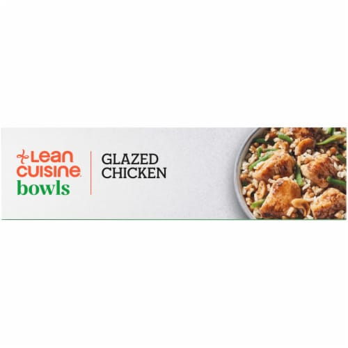 Lean Cuisine Bowls High Protein Glazed Chicken Frozen Meal Perspective: left
