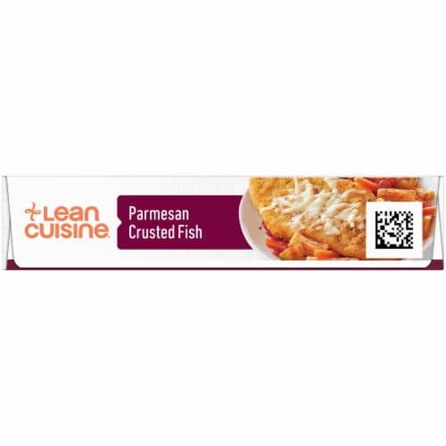 Lean Cuisine Features Parmesan Crusted Fish Frozen Meal Perspective: left
