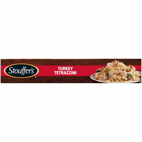 Stouffer's Turkey Tetrazzini Frozen Meal Perspective: left
