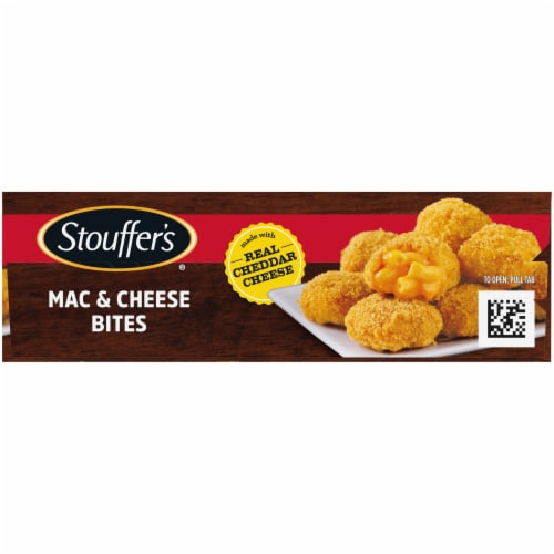 Stouffer's Mac & Cheese Bites Perspective: left