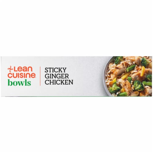 Lean Cuisine Bowls Sticky Ginger Chicken Frozen Meal Perspective: left