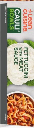 Lean Cuisine Cauli'Bowls Fettucini with Meat Sauce Cauliflower Pasta Frozen Meal Perspective: left