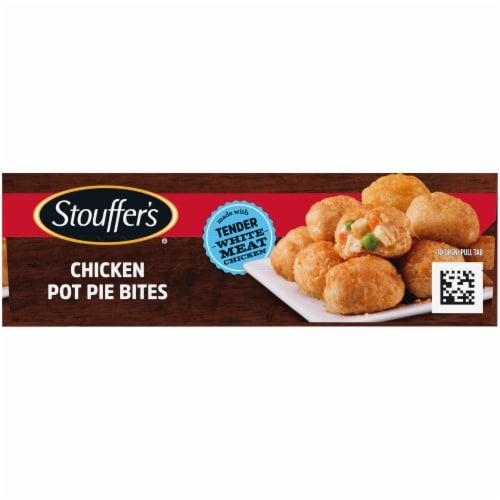 Stouffer's Chicken Pot Pie Bites Perspective: left