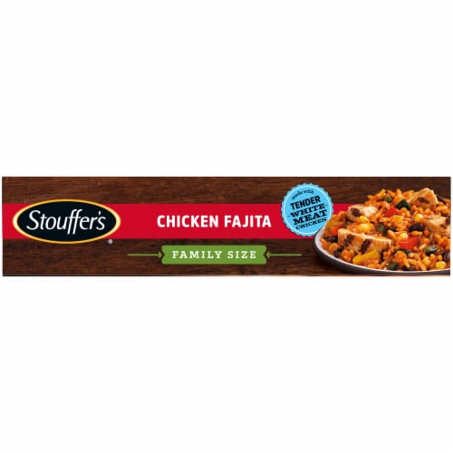Stouffer's Classics Chicken Fajita Family Size Frozen Meal Perspective: left
