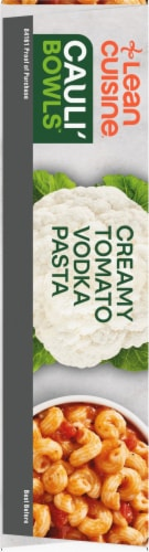 Lean Cuisine Cauli'Bowls Creamy Tomato Cauliflower Vodka Pasta Frozen Meal Perspective: left