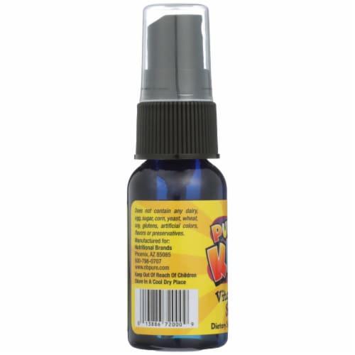 Pure Kidz Vitamin C Spray Perspective: left