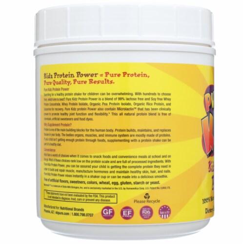 Pure Kidz Children's  Vanilla Protein Powder Perspective: left