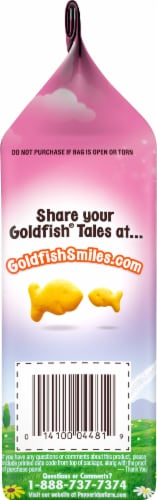Goldfish Princess Cheddar Baked Snack Crackers Perspective: left