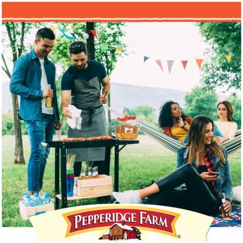 Pepperidge Farm Bakery Classics Top Sliced Sweet Hawaiian Hot Dog Buns Perspective: left