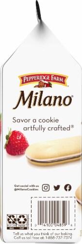 Milano Strawberry Chocolate Cookies Perspective: left