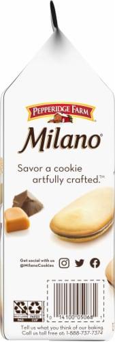 Milano Caramel Macchiato Cookies Perspective: left