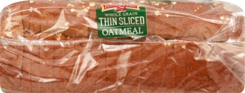 Pepperidge Farm Thin Sliced Oatmeal Bread Perspective: left