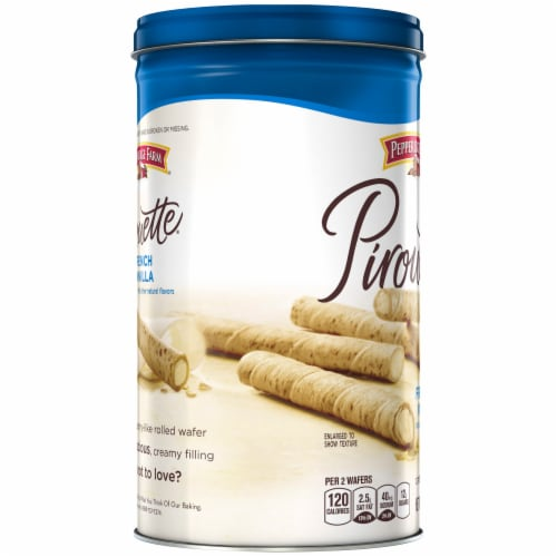 Pepperidge Farm Pirouette French Vanilla Creme Filled Wafers Perspective: left