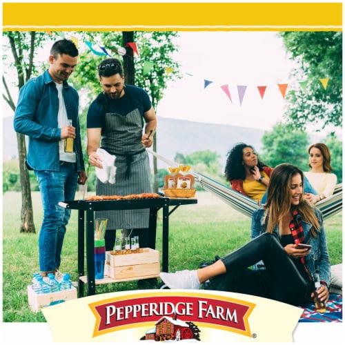 Pepperidge Farm Bakery Classics Golden Potato Hamburger Buns Perspective: left