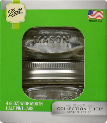 Ball Wide Mouth Jars - 4 Pack Perspective: left