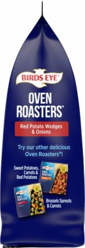 Birds Eye Oven Roasters Seasoned Red Potato Wedges & Onions Perspective: left