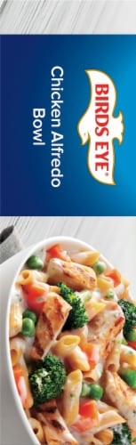 Birds Eye Chicken Alfredo Bowl Frozen Meal Perspective: left