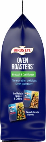 Birds Eye® Oven Roasters™ Broccoli and Cauliflower Frozen Vegetables Family Size Perspective: left