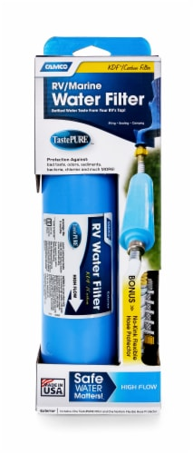 Camco RV/Marine Water Filter Perspective: left