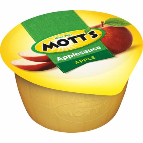 Mott's Applesauce Cups Perspective: left