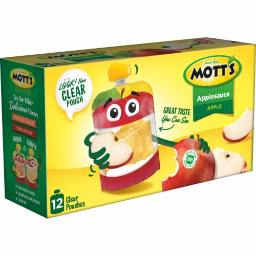 Mott's Applesauce Pouches Perspective: left