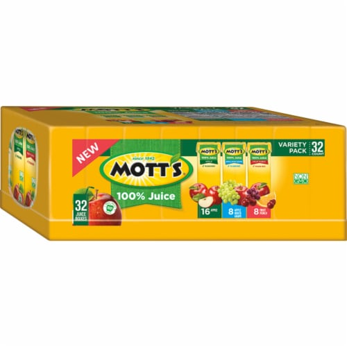 Mott's Apple Juice Variety Pack Perspective: left