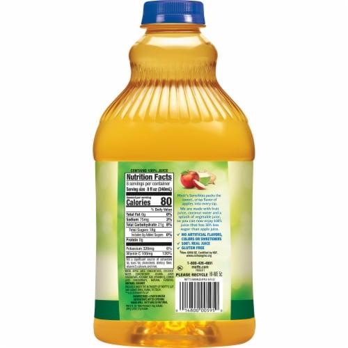 Mott's Sensibles Less Sugar Apple Juice Perspective: left