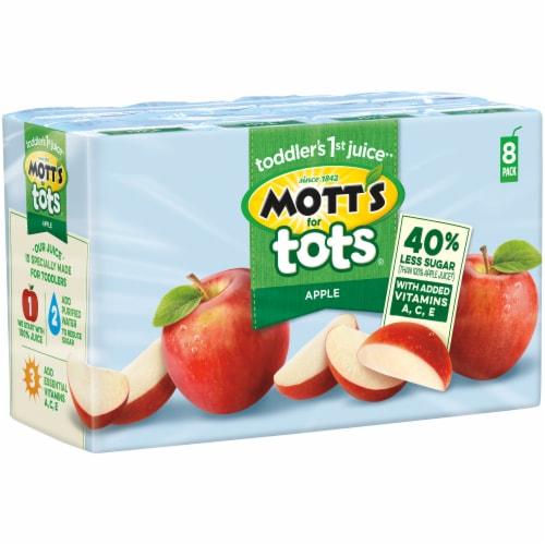 Mott's for Tots Apple Juice Boxes Perspective: left